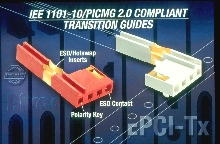 Transition Guides feature snap-in mounting.