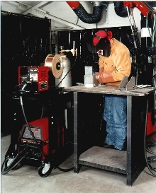 Welding Inverter provides soft or crisp MIG arc control.