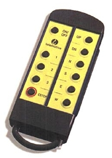 Crane Control operates up to four receivers.