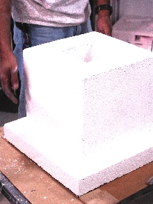Castable Alumina can be made into furnace parts.