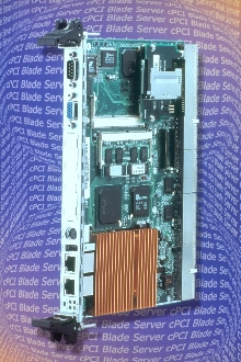 CompactPCI Computer fits on one 6U board.