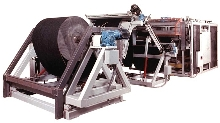 Slitter/Sheeter offers shaftless unwind.