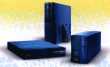 Uninterruptible Power Supplies protect networking equipment.
