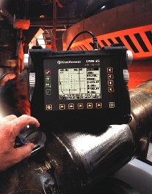 Flaw Detector comes with data logger.