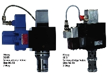 Cartridge Valves offer high flow capabilities.