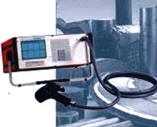 Portable Metal Analyzer identifies alloys in seconds.