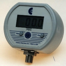 Pressure Gauge has NEMA 4X housing.