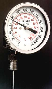 Dial Thermometers suit HVAC and process applications.