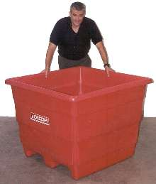 Storage Bin offers 28 cu ft volume.
