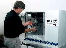 Micro-Abrasive Lathe uses interchangeable nozzle arrays.