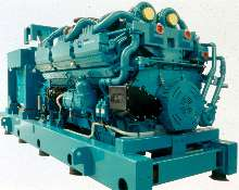 Diesel Generator Set provides 2.7 MW of power.