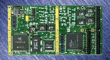 Mezzanine Card provides digital and analog I/O.