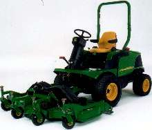 Front Mower has 31 hp diesel engine.