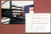 Software designs pallet-rack storage systems.