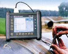 Portable Hardness Tester offers two instruments in one.