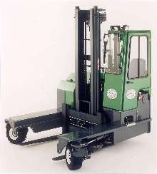 Reach Truck handles long  8,000 lb loads.