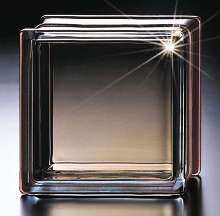 Glass Block provides solar protection.