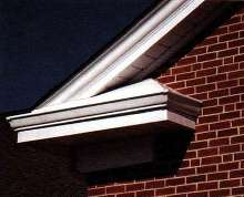 Aluminum Crown Moldings are virtually maintenance-free.