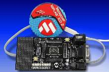 Demonstration Board works with Flash microcontrollers.
