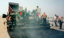 Liquid Suppressant eliminates asphalt odors.