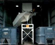 Discharge Chute distributes stamping scrap.