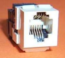 RJ Connectors provide dual function in single unit.