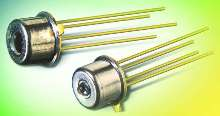 InGaAs Photodiodes offer speeds to 155 and 622 Mbps.