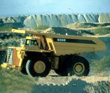 Mining Truck offers 320 ton capacity.