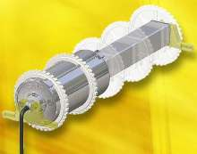 Square Shaft Belt Drive suits modular belt applications.