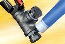 Pipe Sealant produces full torque strength for pipe joints.