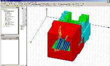 Software provides EM-based design synthesis.