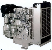 Compact Engine suits power generation applications.