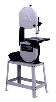 Band Saws come in open-stand and enclosed-stand models.