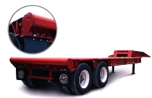 Rolling Tailboard facilitates loading/unloading of trailers.