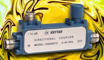 Directional Stripline Couplers cover 2.0 to 40.0 GHz range.