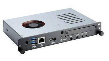 OPS Signage Player leverages 3G Intel Core i7/i5/i3 processors.