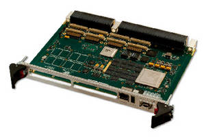 VPX Single Board Computer  supports Freescale 8-core processor.