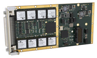 MIL STD-Compliant XMC Card has SWaP-optimized design.