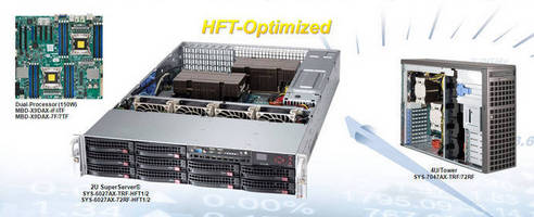 HFT-Optimized Servers accelerate low-latency applications.
