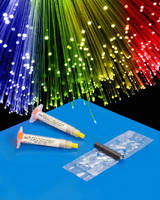 Fiber Optic Adhesives provide optimized polishing surface.