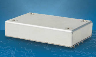 Encapsulated DC-DC Converters withstand demanding environments.