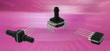Miniature Pressure Sensors are optimized for media compatibility.