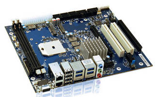 Flex-ATX Motherboard serves graphics-intensive applications.