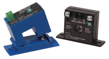 AC Current Operated Switches simplify monitoring.