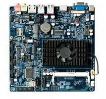 Mini-ITX Mainboard features Intel D2550 processor.