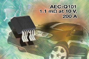 Power MOSFET targets heavy-duty automotive applications.