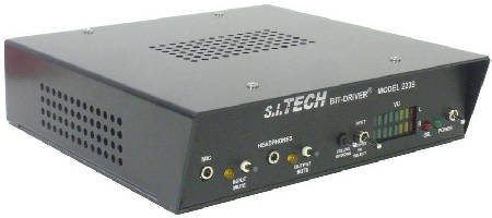 Audio to Fiber Bit-Driver supports 2-way stereo audio.