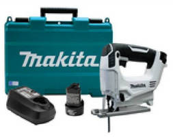 Cordless Jigsaw is powered by 12 V max Lithium-Ion battery.