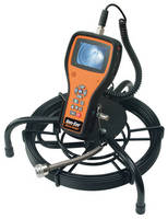 Visual Pipe Inspection Tool has compact, handheld form factor.