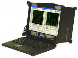 RF/IF Signal Recorder, Playback System is portable and rugged.